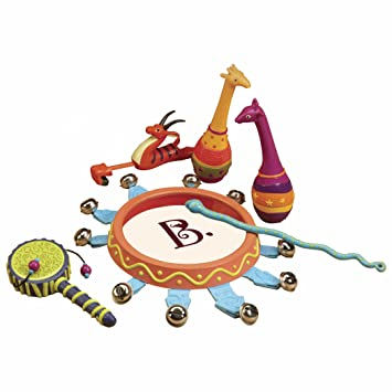Amazon.com: B. Jungle Jingle Musical Instruments: Toys & Games