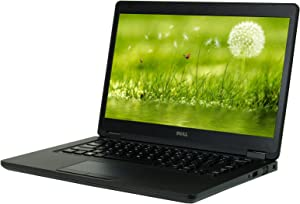 Dell Latitude 5480 14 inches Laptop, Core i5-6200U 2.3GHz, 8GB Ram, 500GB SSD, Windows 10 Pro 64bit (Renewed)