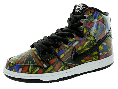hot sale online 8b0d0 9e2db Amazon.com   Nike SB X Concepts Dunk high Premium Mens hi top Trainers  313171 Sneakers Shoes   Basketball