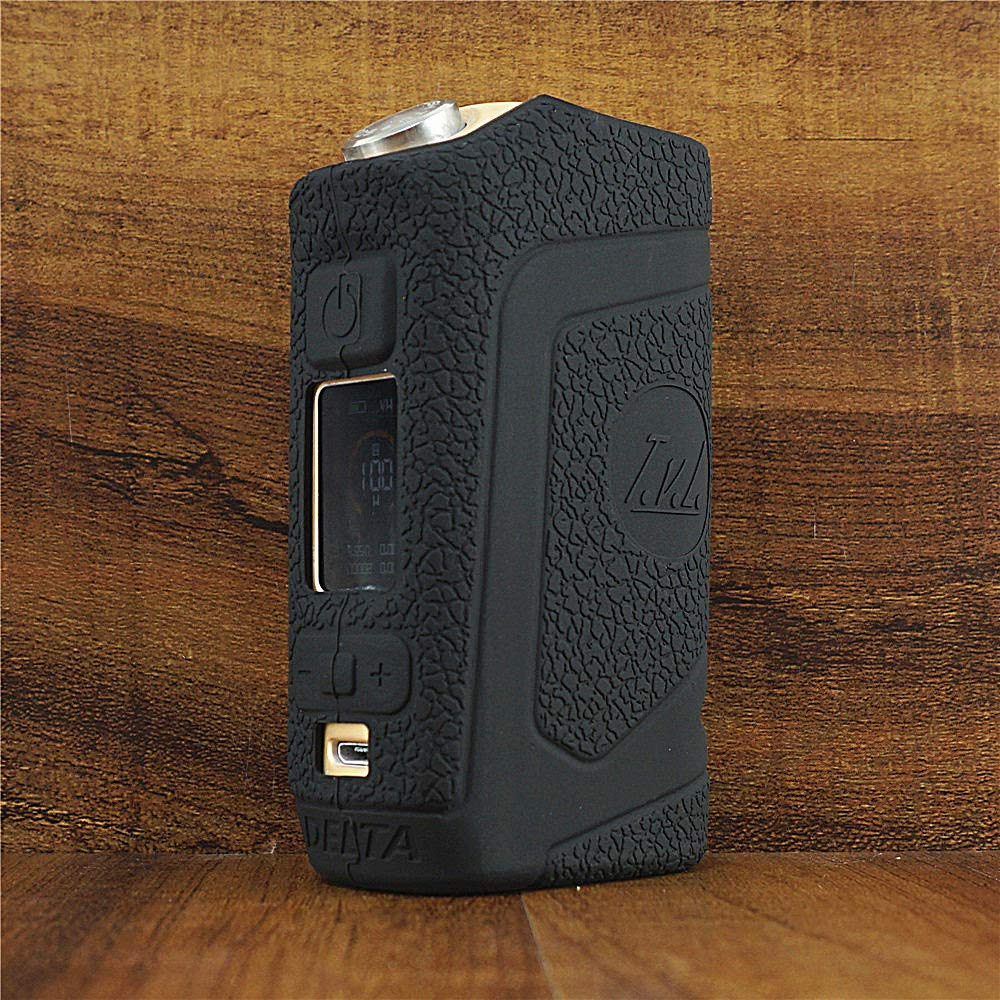 ModShield for Revenant x TVL Delta 100W Squonk Silicone Case ByJojo Protective Cover Sleeve Shield Wrap Skin (Black)