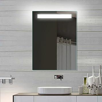 RMI Multimedia Spiegel Badezimmer Spiegel LED Beleuchtung Aluminium ...