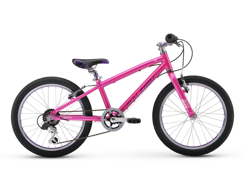 Raleigh Bikes Lily 20 Girl's Mountain Bike, 20'' Wheels, Pink