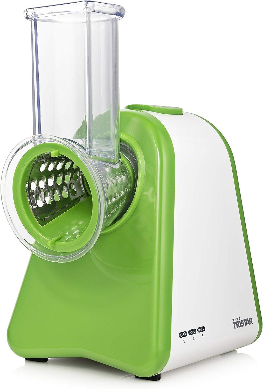 Tristar MX-4824 - Picadora, troceadora de alimentos - 3 discos para cortar, triturar y gratinar - 200 W: Amazon.es: Hogar
