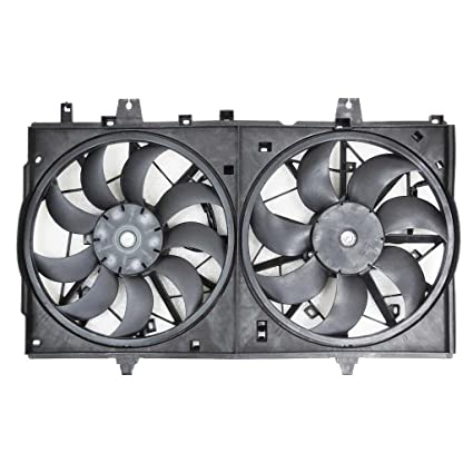 Sunbelt Radiator And Condenser Fan For Nissan Murano NI3115124 Drop in Fitment