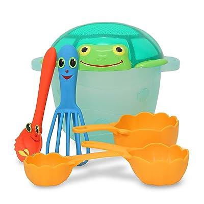 Melissa & Doug Sunny Patch Seaside Sidekicks Sand Baking Set: Toys & Games