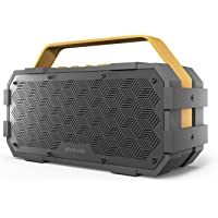 Photive M90 20W Portable Waterproof Bluetooth Speaker with Built In Subwoofer