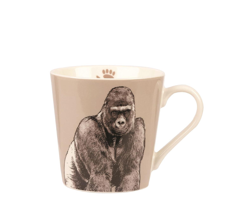 Queens couture Kingdom Bumble Mug-Chimpanzee Fine China