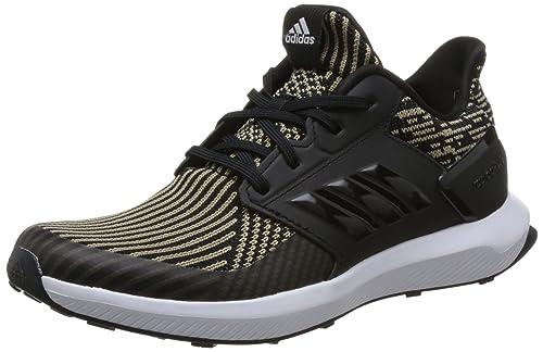 Unisex Adults RapidaRun Knit J Fitness Shoes, Grey adidas