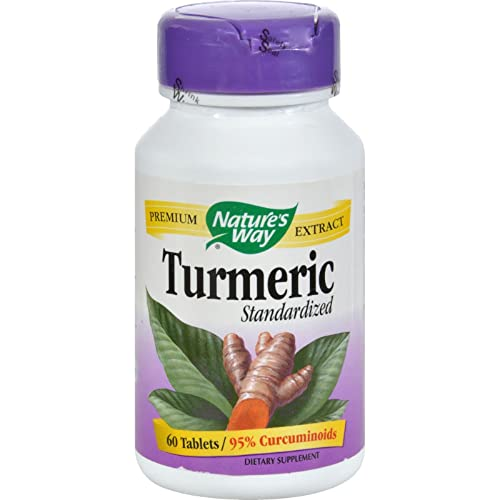 Natures Way – Natures Way Turmeric Standardized – 60 Tablets
