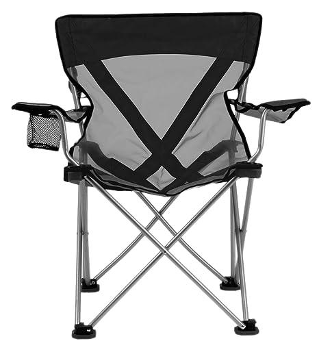 TravelChair Teddy Steel Chair, Black