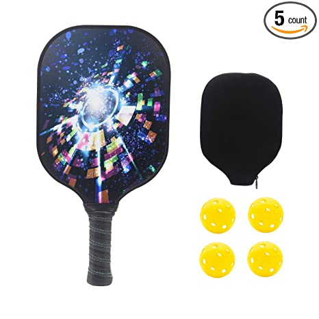 Amazon.com : NINESUN Pickleball Paddle - Pickleball Set with ...