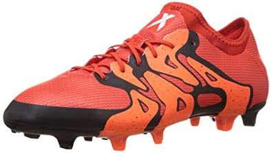 adidas X15.1 FG / AG Mens Soccer Boots / Cleats -Orange-6.5