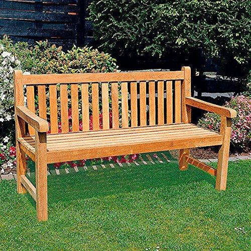 TEAK-Gartenbank Tradition, 3-Sitzer
