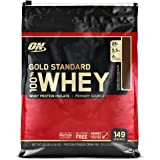 Optimum Nutrition (ON) Gold Standard 100% Whey Protein Powder - 10 lbs, 4.54 kg (Double Rich Chocolate)