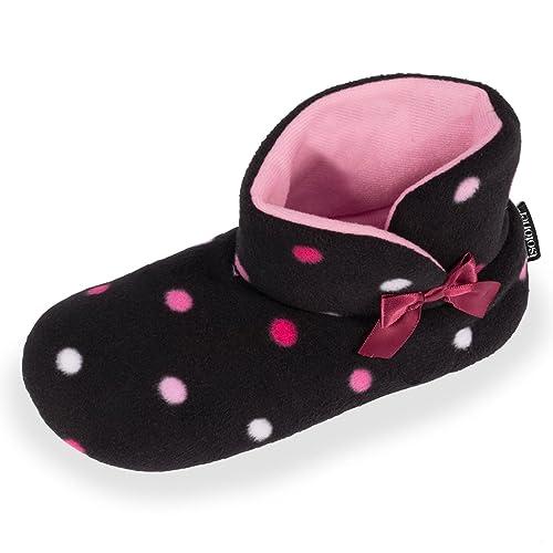 Botines de casa para niña Isotoner 31/32: Amazon.es: Zapatos y complementos