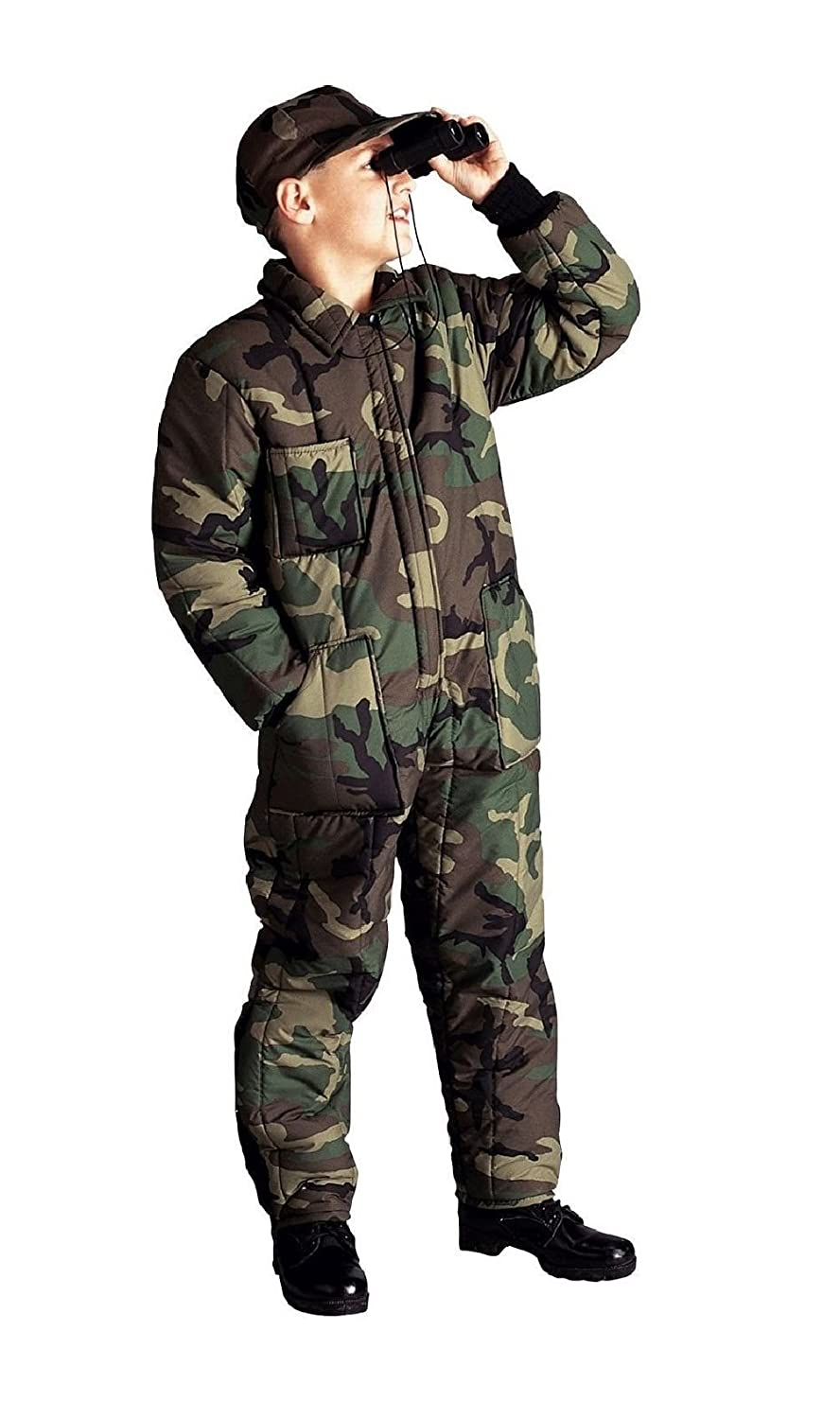 Amazon.com  Kids Wood Camo Insulated Coveralls - Boys Winter Overalls Camo  Super Warm  Xs-Xl  Clothing 7ab84ab19861