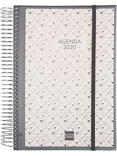 Finocam - Agenda 2020 1 día página Espiral You Floral ...