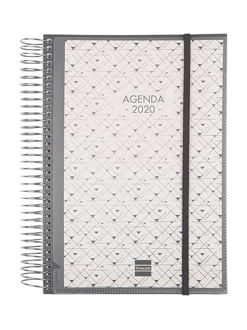 Amazon.com: Finocam – Agenda 2020 1 Day Spiral Page ...