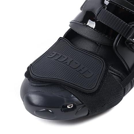 7509cd28e1b8a Madbike Accesorios de Cambio de Engranaje para Zapatos Botas de Motocicleta  Protector (Black)