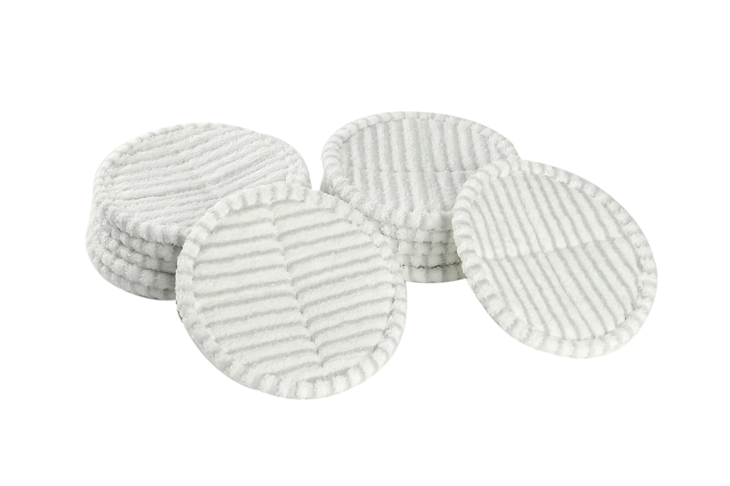 LTWHOME Replacement 8.6 Inches Scrubby Mop Pads Fit for Bissell Spinwave 2039 Series 2039A 2124 (Pack of 12)