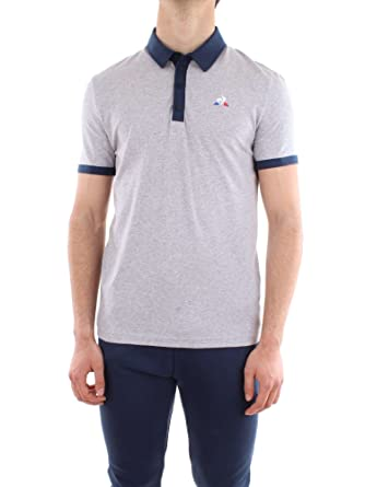 Le Coq Sportif Mens Essentials Classic Polo Shirt at Amazon Men s ... 199f7c84a