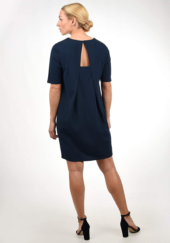 Jacqueline de Yong Estelle Damen Abendkleid Cocktailkleid Festliches Kleid mit R/ückenausschnitt