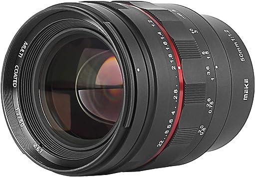Meke 50 Mm F1 2 Große Blende Manueller Fokus Kamera