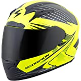 Scorpion Exo EXO-R2000 Ravin Full Face Motorcycle Helmet (Matte Neon, Medium)