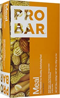 product image for Probar Organic Peanut Butter Meal Bar, 3 oz, 12 ct