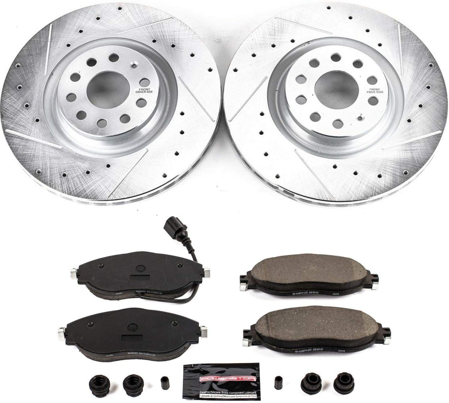 Power Stop K4601 Z23 Evolution/Sport Rear Brake Kit
