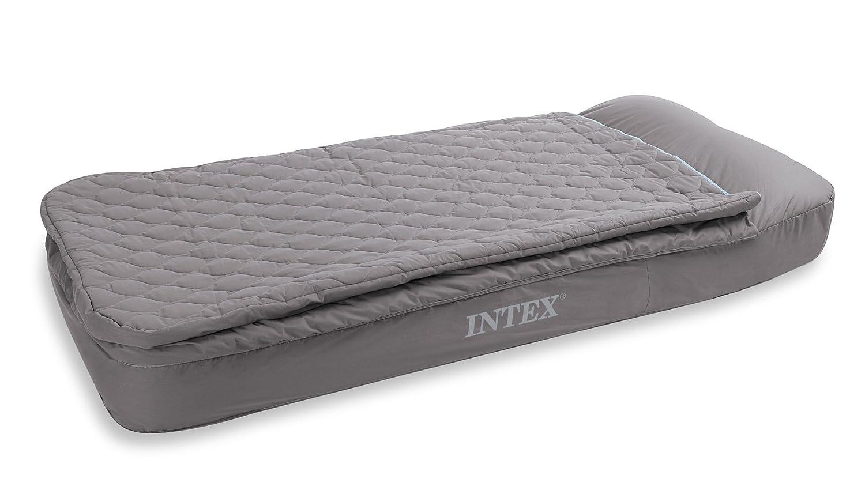 Colchon hinchable con saco de dormir