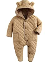 7bf857b3971a Amazon.com  Vaenait Baby 6-24M Winter Hoodie Snowsuit Padded ...