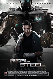 REAL STEEL MOVIE POSTER 2 Sided ORIGINAL FINAL 27x40 HUGH JACKMAN