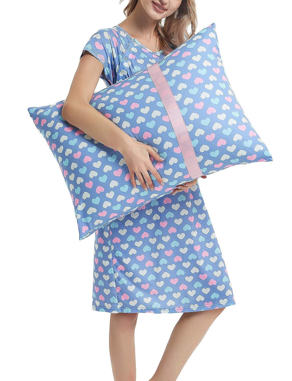 GINKANA DRESS レディース B07FY44QJX Small Blue Heart Blue Heart Small