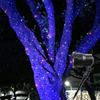 Poeland Outdoor Star Projector Lights Laser Firefly Christmas Lights