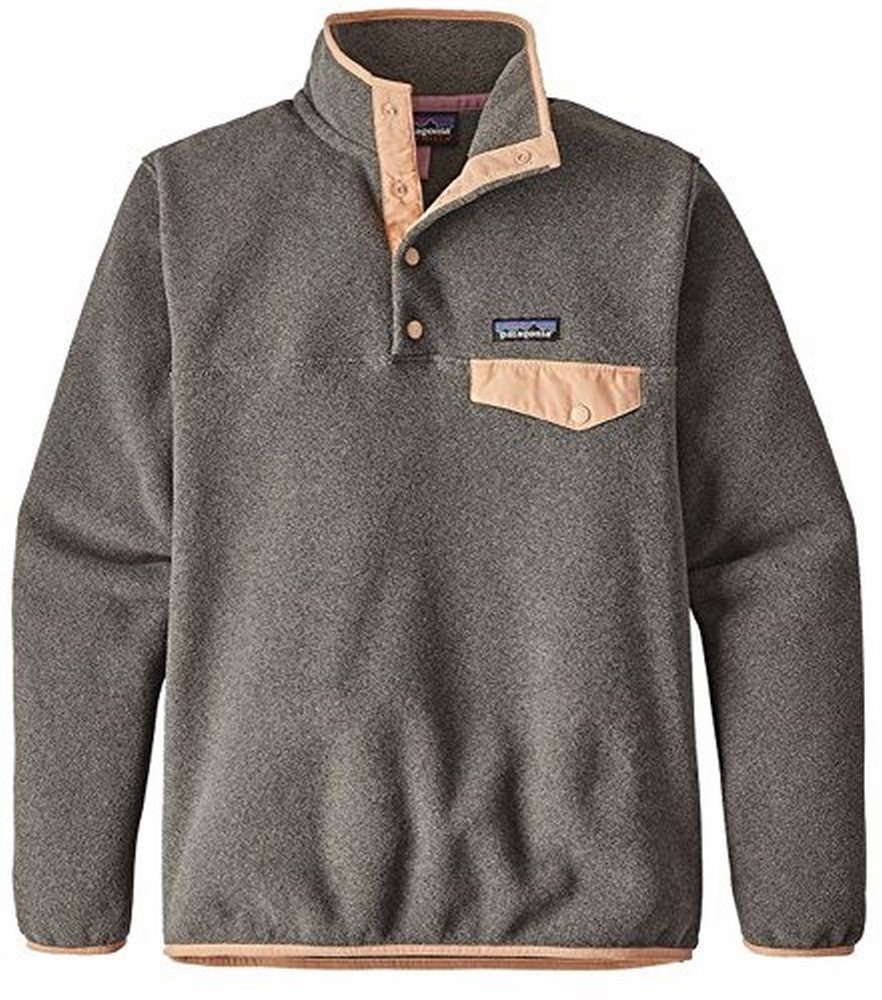 patagonia(パタゴニア) ウィメンズリツールスナップTプルオーバー Ws Re-Tool Snap-T P/O 25442 B073XW7ZWN Small|Nickel W/ Rosewater Nickel W/ Rosewater Small