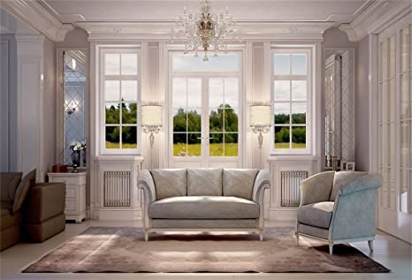 Amazon.com : CSFOTO 7x5ft Interior Design Backdrop Interior Room ...