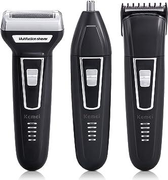 Afeitadoras para hombres, Wellna eléctrico inalámbrico USB ...