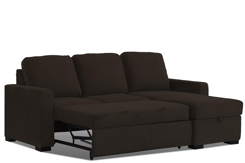 Phenomenal Amazon Com Westport Home Sienna Convertible Sofa Java Forskolin Free Trial Chair Design Images Forskolin Free Trialorg