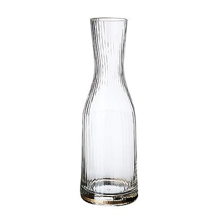 oert elcry Tal Botella Amelie Jarra, Vidrio, Cristal, 15 cm ...