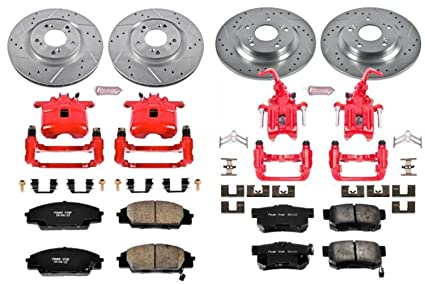 Power Stop Brakes >> Power Stop Kc2277 Z23 Evolution Sport Brake Kit With Calipers