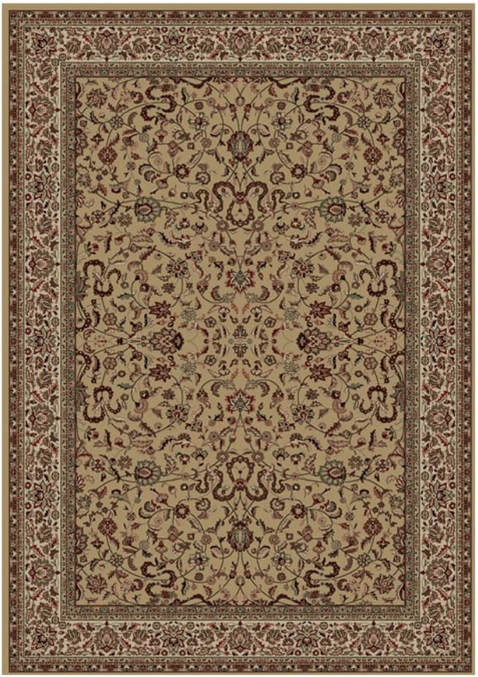 Concord Global Trading Oriental Classics Kashan Gold Rug Rug Size 5 3 X 7 7 Furniture Decor