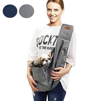 RETRO PUG Dog Sling Carrier