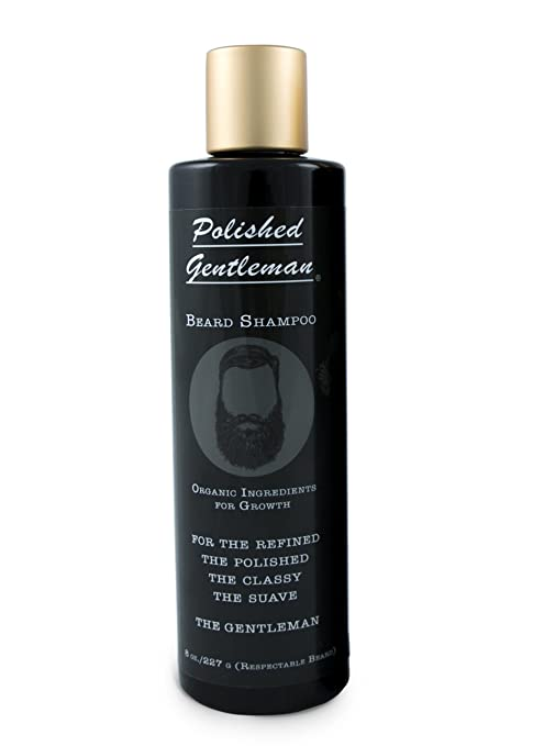 Polished Gentleman Beard Growth and Thickening Shampoo Review