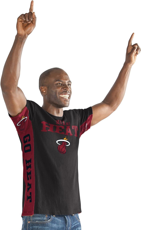 G-III Sports NBA Mens Side Bar Short Sleeve Top