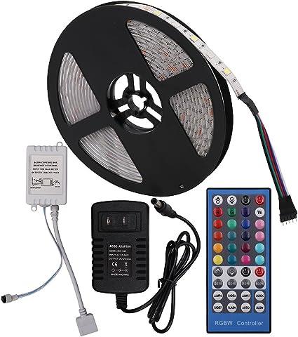 Power Supply Waterproof 5M 5050 SMD 300 LED Strip Light Full Kit RF remote