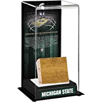 $89 » Michigan State Spartans 2000-2016 Sublimated Tall Display Case with Game-Used Court - Other…