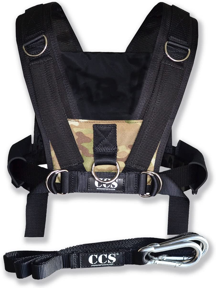 ComCor Pro Sled Harness – Camo – Made in The USA