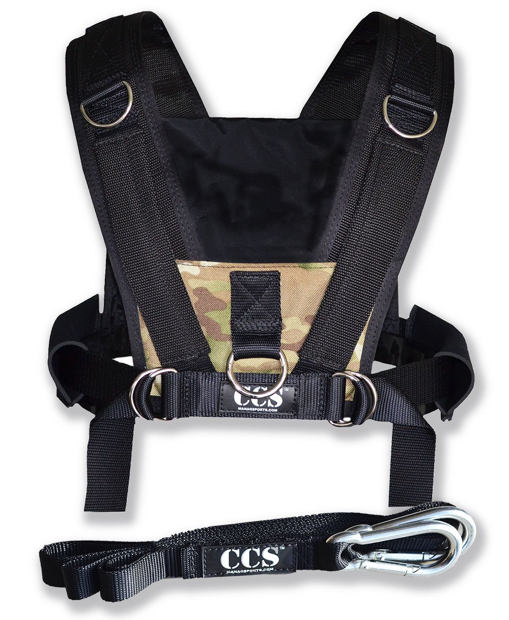 ComCor Pro Sled Harness - Camo - Made in The USA