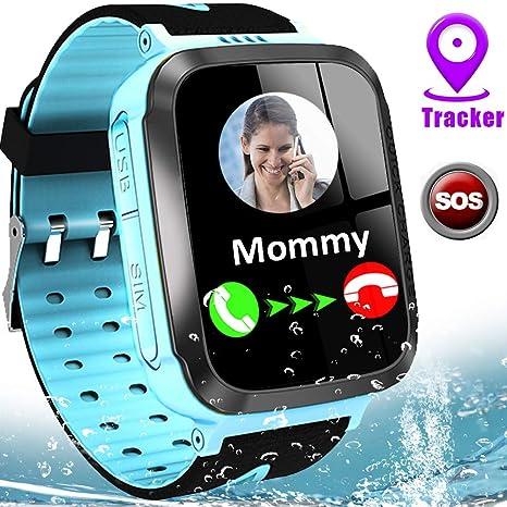 Amazon.com: MiKin - Reloj inteligente para niños con ...